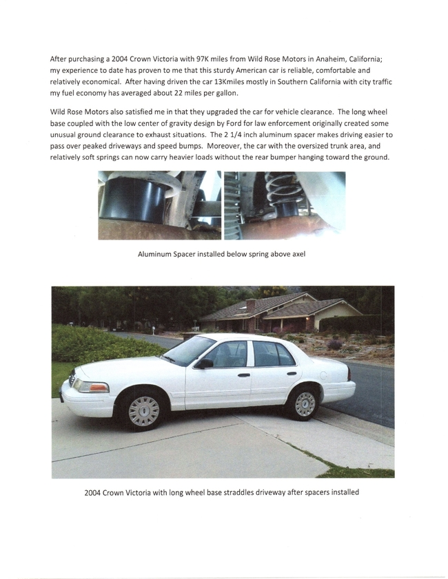 Wild Rose Motors - PoliceInterceptors info Testimonials